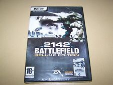 Battlefield 2142: Deluxe Edition (PC DVD) **New & Sealed**