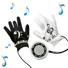 Electronic Piano Gloves with Built-in Speaker Demo Melody Song Music Box Fun Toy
