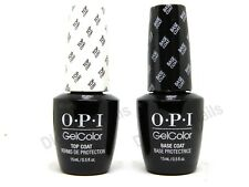 OPI Gelcolor Soak off Gel Top & Base Coat 0.5 oz / 15 ml each Duo Set GC 010 030
