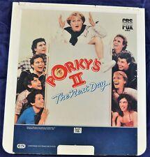 RCA VideoDisc CED - Porky's II The Next Day, 1984 - CBS/Fox