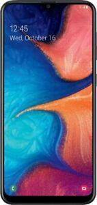 Samsung Galaxy A20 32GB SM-S205DL AT&T Unlocked GSM Worldwide - Black - T90
