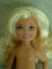 BARBIE SISTER KELLY CHELSEA BUTTERFLY CATCHER DOLL NUDE NEW LAST ONE!