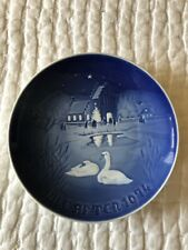 Royal Copenhagen Jules After Christmas Plate 1974 Christmas In The Village
