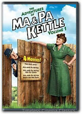 The Egg and I Ma & Pa Kettle Ma & Pa Kettle Go To Town DVD New 1 More Movie