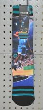 New Stance Larry Johnson Grandmama NBA Legends Collection Socks L/XL Hornets