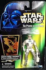 Retro Star Wars Hoth Rebel Soldier (con Mochila de supervivencia & Blster rifle 1996)