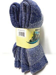 3 pairs 72% Merino Wool Mountain Pass Men's Socks Warm Winter Comfortable 9-11