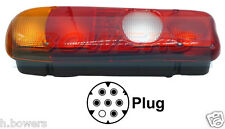 REAR TAIL LAMP LIGHT UNIT MITSUBISHI CANTER / FUSO FITS LEFT HAND L/H NEARSIDE