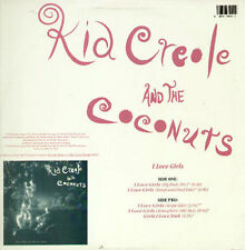 KID CREOLE AND LE NOIX DE COCO - I Love Girls - Columbia