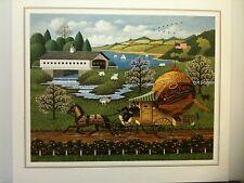 "Charles Wysocki ""The Paper Boys"" (Spring) S/N Ltd Ed Print #914/2000"