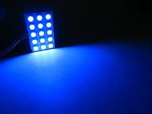 2x Ultra Blue LED Panel Map Dome Trunk Door Light Mazda 2 3 5 6 CX7 CX9 MX5