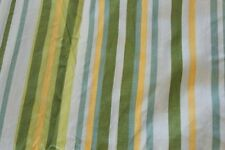 Picnic Stripe Green Yellow Twin Duvet Comforter Cover Company Store