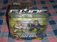 NIP G.I. Joe The Rise of Cobra Combat Heroes 40185 Conrad Duke Hauser Cobra Comm