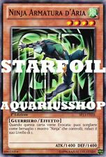 Yu-Gi-Oh Ninja Armatura di D'aria Italiano STARFOIL SP13-IT016 Air Armor Forte