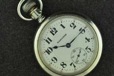 VINTAGE 16S HAMILTON 992 21J POCKET WATCH SWING OUT DISPLAY CASE KEEPING TIME