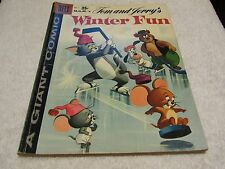 Dell comics M.G.M.`s Tom and Jerry Winter Fun #7