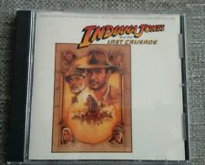 INDIANA JONES AND THE LAST CRUSADE CD SOUNDTRACK - JOHN WILLIAMS