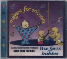 Majors For Minors - Bee Gees For Babies - Brand New Factory Sealed CD Album