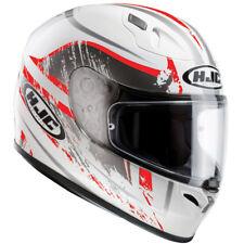 HJC FG-17 Full Face Motorbike Motorcycle Helmet Strike Red S Clearance
