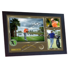 Rory Mcilroy signed autograph photo print Legend Golf poster FRAMED 13 in x 10in