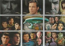 Star Trek QUOTABLE ORIGINAL SERIES   The Final Frontier  ST1 to ST9 9 CARD SET