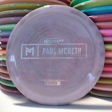 Discraft Paul McBeth Prototype Swirly Esp Zeus Disc Golf Distance Driver 174.0g