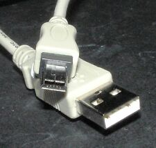 USB 2 / USB2.0 A to Mini-A 5-pin Cable / Lead, Male-Male, 1M, for camera's etc