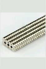 ~500pc~TINY STRONG RARE EARTH NEODYMIUM DISC MAGNET 3 mm X 1.5 mm FREE SHIPPINGz