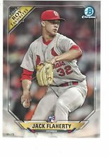 2018 Bowman Rookie Year Favorites RC 5x7 /49 Jack Flaherty St. Louis Cardinals