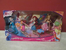 Winx Club Good vs Evil TARGET Icy Stella Bloom Flora Doll Set New 11.5 Enchantix