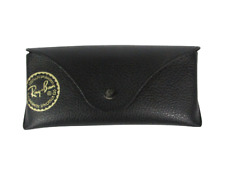 Ray Ban Eye Glasses Sunglasses BLACK Cover CASE Pouch With Cleansing cloth