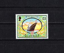 GUERNESEY  timbre  patrimoine maritime  navire bateau     1998  num:   795   *