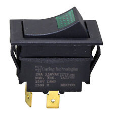 LIGHTED SWITCH 15A 277V Lamp 250V for Lincoln Oven 1300 1130 1133-000A 421465