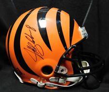 Jeff Blake Signed Cincinnati Bengals Authentic Riddell Full Size Helmet JSA
