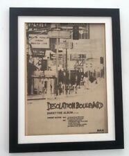 The SWEET Desolation Boulevard 1974*ORIGINAL*POSTER*AD*FRAMED*FAST WORLD SHIP