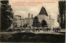 CPA Villersexel - L'Artilerie Allemande, Chateau Ruines  (380134)