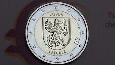 2 euro 2017 LETTONIA Letgallia Latgale Lettonie Lettland Latvia Латвия