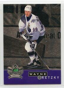 1995-96 Parkhurst International Crown Collection - #10 - Wayne Gretzky - Kings