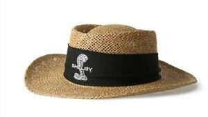 Shelby Straw Hat * Great for Cobra GT350 GT500 Owners & Fans! Ships Worldwide!