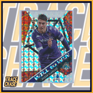 2020-21 Panini Mosaic Serie A Dusan Vlahovic Will to Win 17/25 #22