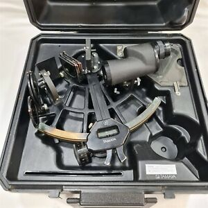Tamaya Marine Sextant MS-2L with 7x35 Binocular. Made in Japan