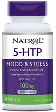 Natrol 5-HTP 100 mg Capsules 30 ea (Pack of 3)