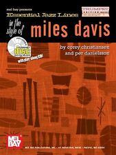 Essential Jazz Lines: Miles Davis - Trumpet Edition