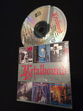 METALBOUND AUSTRALIAN EMI SAMPLE ONLY CD IRON MAIDEN W.A.S.P. WASP MEGADETH