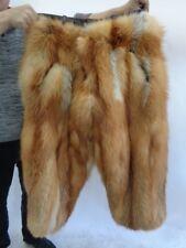 BRAND NEW RED FOX FUR PANTS MEN MAN SIZE ALL