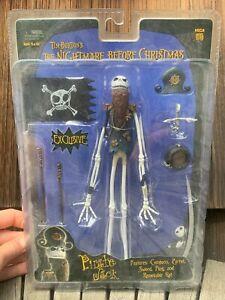Nightmare Before Christmas NECA Reel Pirate Jack Skellington Figure Sealed Mint