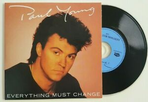 """PAUL YOUNG 1984 : EVERYTHING MUST CHANGE (12"""" + 7"""" MIXES) ♦ Limited Ed. CD ♦"""