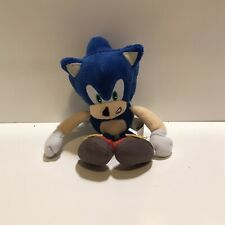"Sonic the Hedgehog SEGA 20th Anniversary Plush Toy 8"" Tall Jazwares"