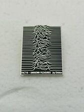 Joy Division UNKNOWN PLEASURES Pin Badge Ian Curtis Warsaw Post Punk Substance