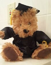 Graduation Bear, Stuffed Toy in Cap and Gown Graduation Gift